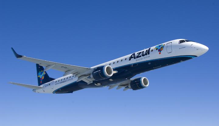 Azul Brazilian Airlines aircraft