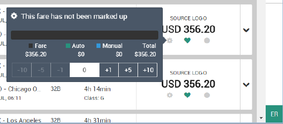 Quiet indicator with markup option