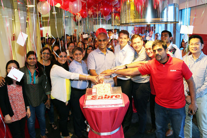 Sabre Travel Network staff around the region celebrated the one year anniversary of Sabre's Asia Pacific business expansion