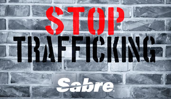 Stop Trafficking Sabre Logo