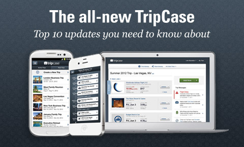 Exciting new TripCase updates for the product you use to provide free flight notifications and customer travel documents