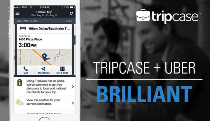 TripCase + Uber